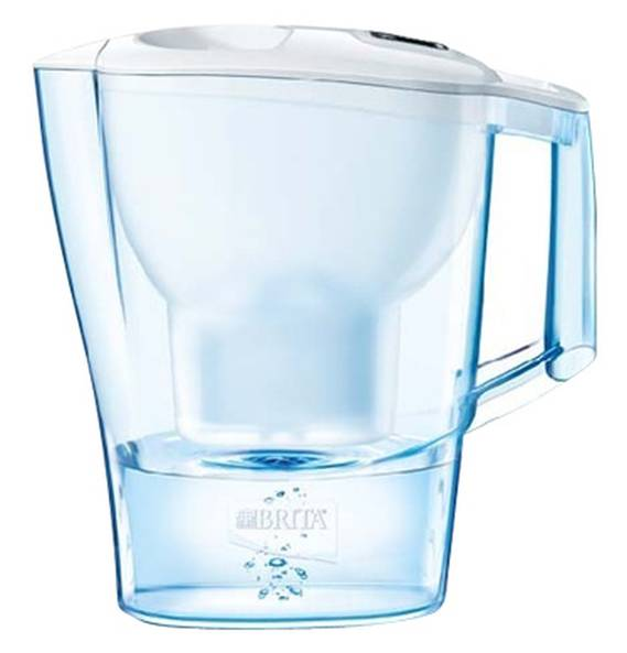 BRITA Wasserfilter Aluna Cool frosted