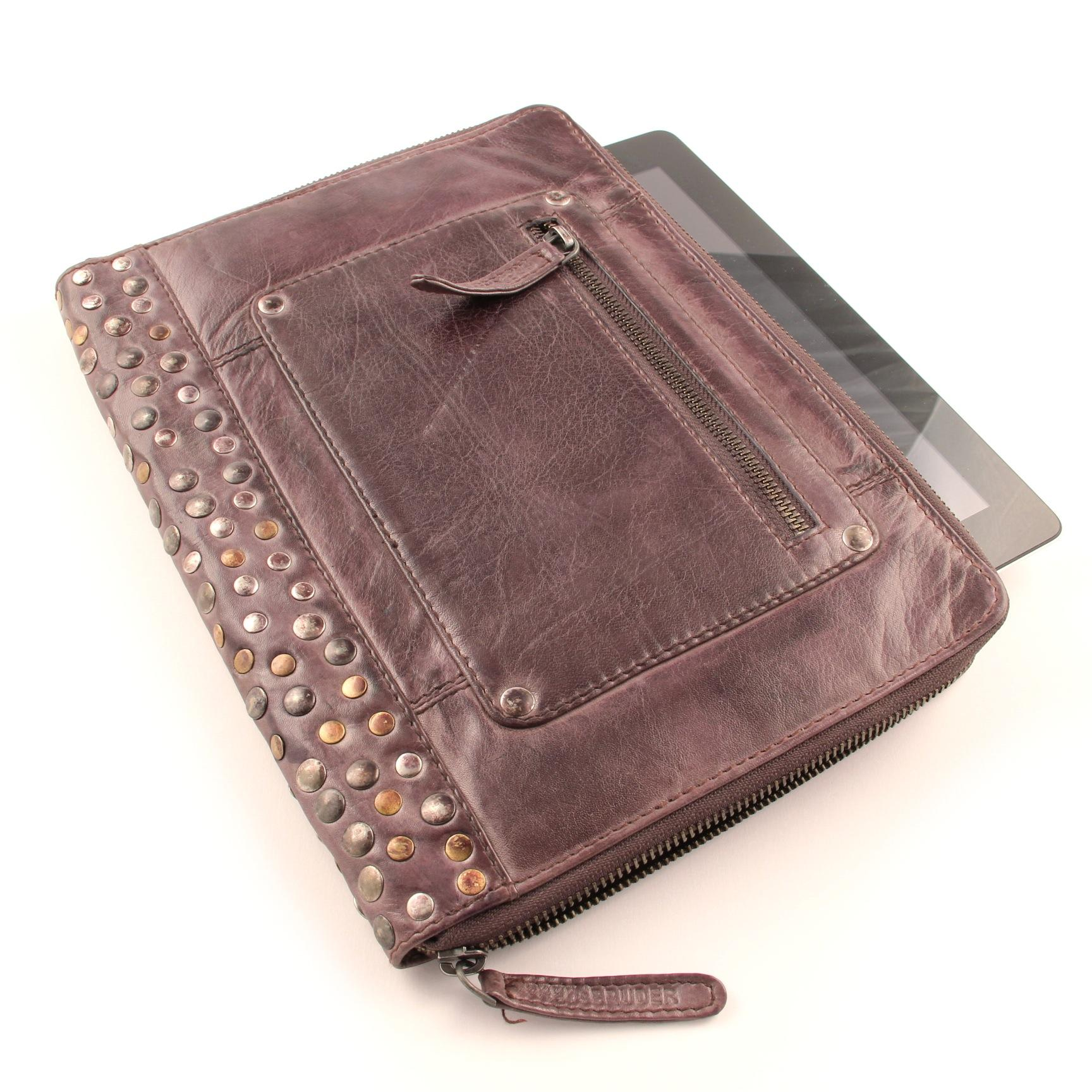 FREDsBRUDER iPad & Tablet Cover CV-Rivet Braun
