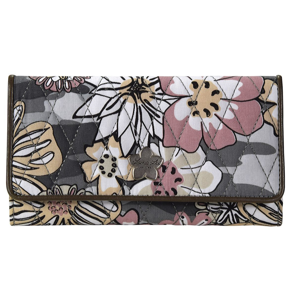 Lana Lei Accessories Clutch Geldbörse 19 cm, base grey