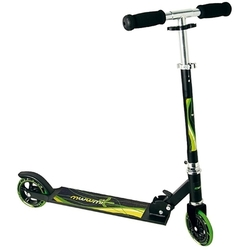 Authentic Sports - Alu Scooter Muuwmi 125 mm, schwarz/grün AUTHENTIC SPORTS