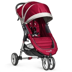 Baby Jogger - Sportwagen City Mini 3-Rad, crimson/gray BABY JOGGER