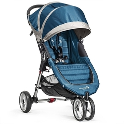 Baby Jogger - Sportwagen City Mini 3-Rad, teal/gray BABY JOGGER