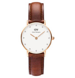 Daniel Wellington Classy Collection Damenuhr St. Andrews rosevergoldet 0900DW DANIEL WELLINGTON