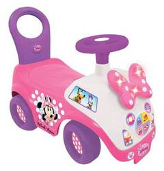 DISNEY Kiddieland Rutscherauto Minnie Mouse mit Licht und Sound DISNEY