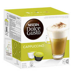 Dolce Gusto Nescafe` Dolce Gusto Cappuccino 8 + 8 Kapseln 200g DOLCE GUSTO