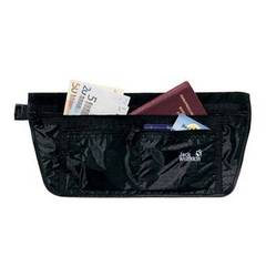 Jack Wolfskin Bauchtasche ´´Document Belt De Luxe black´´ JACK WOLFSKIN