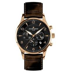 JACQUES LEMANS Classic Herrenuhr Chronograph London 1-1654G JACQUES LEMANS