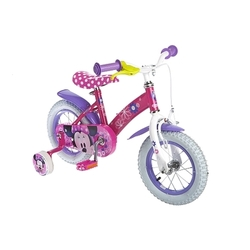 Minnie Mouse - 12 Kinderfahrrad, rosa STAMP