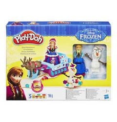 PLAY DOH Disney ´´Die Eiskönigin´´ Set Anna & Schlitten PLAY DOH