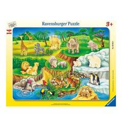 Ravensburger Puzzle Zoobesuch RAVENSBURGER