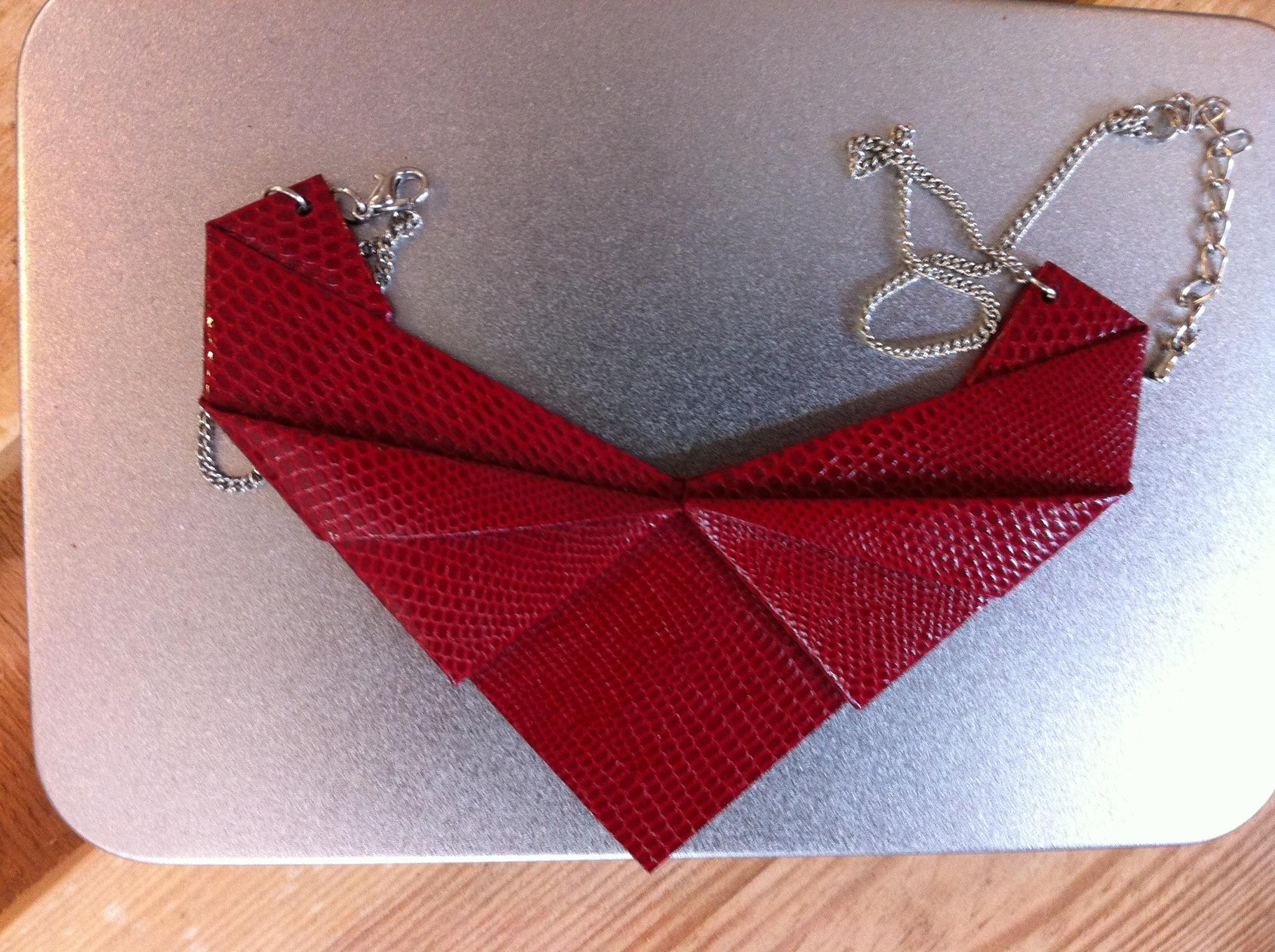 "Origami Kette ""Heart"""