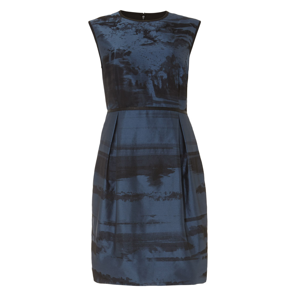 Phase Eight Damen Kleid Naya, navy/schwarz