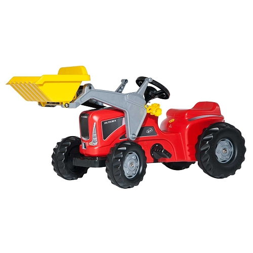 Rolly Toys - rollyKiddy Futura mit rollyKid Lader rot