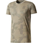 adidas Herren T-Shirt Freelift Elevated, seegrün ADIDAS