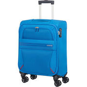 American Tourister 4 Rollen Trolley Summer Voyager, 55 cm, blau AMERICAN TOURISTER