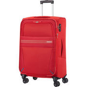 American Tourister 4 Rollen Trolley Summer Voyager, 55 cm, rot AMERICAN TOURISTER