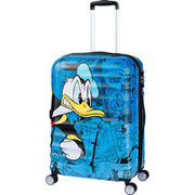 American Tourister 4-Rollen-Trolley Wavebreaker Disney, 77 cm, Donald Duck AMERICAN TOURISTER