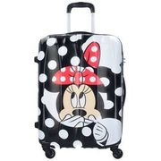 American Tourister Disney Legends Spinner 4-Rollen Trolley 65 cm, minnie dots AMERICAN TOURISTER