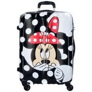 American Tourister Disney Legends Spinner 4-Rollen Trolley 75 cm, minnie dots AMERICAN TOURISTER