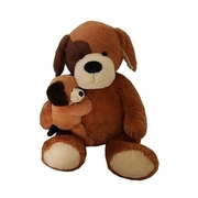 Animal Alley - Hundemamma mit Baby, ca. 55 cm TOYS ´R´ US
