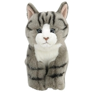Animal Alley - Katze, grau gestreift, ca. 30 cm TOYS ´R´ US