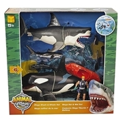 Animal Zone - Großer Hai & Wal Set TOYS ´R´ US