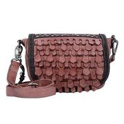 Billy the Kid Reptile Umhängetasche Leder 28 cm, rosewood BILLY THE KID