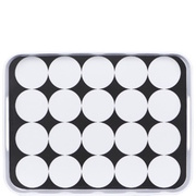 BLACK & WHITE Tablett Kreise BUTLERS