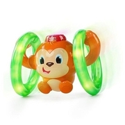 Bright Starts - Lights: Baby Roll and Glow Monkey KIDS II