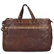 Campomaggi Sequoia Aktentasche Leder 40 cm Laptopfach, dark brown CAMPOMAGGI