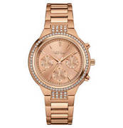 CARAVELLE NEW YORK Damenuhr ´´Boyfriend´´ 44L180, Chronograph CARAVELLE NEW YORK