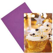 CARD Cupcake gold BUTLERS