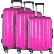 CHECK.IN London 4-Rollen Kofferset 3tlg., pink CHECK.IN