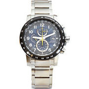 Citizen Herren Eco-Drive Funk Chronograph Elegant ´´AT8124-91L´´ CITIZEN