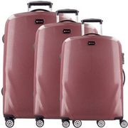 d & n Travel Line 8700 4-Rollen Trolley-Set 3tlg., bordeaux D & N