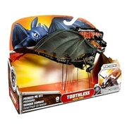 Dragons - Actionfigur: Drache, Toothless (Night Fury, stehend), ca. 15 cm SPIN MASTER