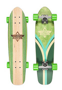 Dusters Flashback Kryptonic 28´´ Longboard - Grün DUSTERS