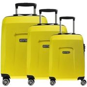 Epic HDX Hexacore 4-Rollen-Trolley Set 3-tlg., yellowGLOW EPIC