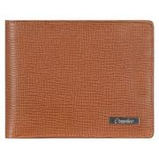 Esquire Boston Geldbörse III Leder 12 cm, cognac ESQUIRE