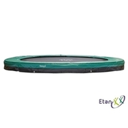 Etan - Trampolin Premium Gold 10 Inground, Ø 300 cm, grün ETAN