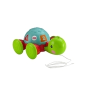 Fisher-Price - Pull-Along Turtle (Y8652) MATTEL