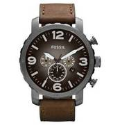 FOSSIL Herrenuhr Chronograph Nate JR1424 FOSSIL