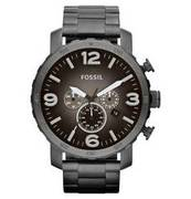 FOSSIL Herrenuhr Chronograph Nate JR1437 FOSSIL
