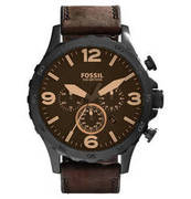 FOSSIL Herrenuhr Chronograph Nate JR1487 FOSSIL