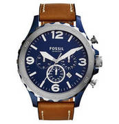 FOSSIL Herrenuhr, Chronograph, Nate, Mens Casual, JR1504 FOSSIL