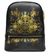 GLÖÖCKLER by Steinmann Rucksack Luxury schwarz-gold GLÖÖCKLER BY STEINMANN
