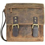 Greenburry Vintage Umhängetasche Leder 22 cm, brown GREENBURRY