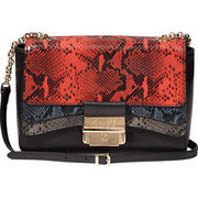 Guess Damen Crossbody Ginevra, rot/schwarz GUESS