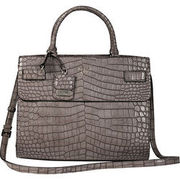 Guess Damen Satchel Cate, taupe GUESS