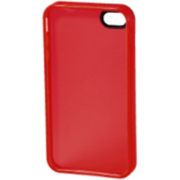 HAMA Handy-Cover TPU für Apple iPhone 4/4S, rot, Kategorie: HAMA